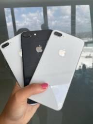 Título do anúncio: iPhone 8plus 64gb (somos loja)
