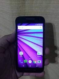 Moto G 3 Geração, 16GB TV digital, internet 4G