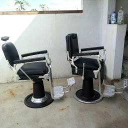 Cadeira de barbeiro antiga1900 cada uma