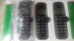 Vendo telefone intelbras com dois ramais de 220,00 por 180,00