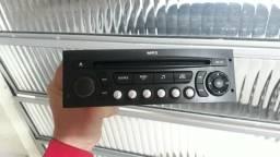 Rádio e Moldura Original Citroën C4