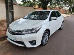 Corolla XEI 2016/2016 Branco Perolizado Único Dono - 2016
