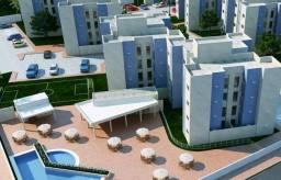 Aluga-se Apartamento TÉRREO c/ quintal no Condomínio Jardins do Norte 3