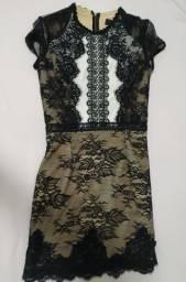 Vestido Skazi de renda