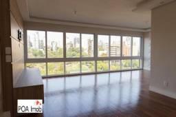 Apartamento com 3 dormitórios para alugar, 131 m² por r$ 4.200,00/mês - bela vista - porto