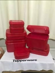 PDA 7 peças Visual box Tupperware de 700 por 260
