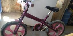 Bicicleta lilás