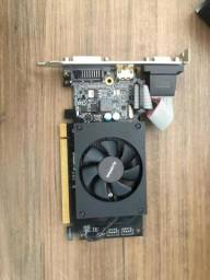 Placa de Vídeo Nvidia GeForce GT 710 1 Gb DDR3 64 Bit