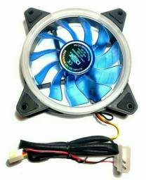 Cooler fan dupla face led azul (NOVO)