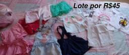 Roupas e sapatos para bebê