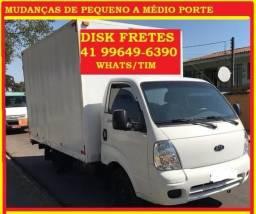 Fretes rápidos/ Mudanças Litoral/ Norte PR / São Paulo