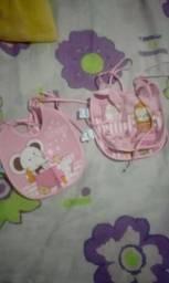 Vendo lote bebe menina Tamanhos P M G