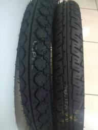 Par de pneus Remold por 100 Reais