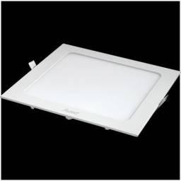 Título do anúncio: Plafon / painel de led de embutir 18w 22x22 6.500k luz branca
