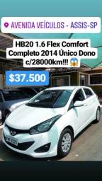 HB20 1.6 Flex Comfort Completo - 2014