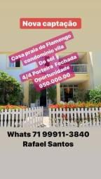 Casa duplex em praia do Flamengo mobiliada e decorada 950 mil