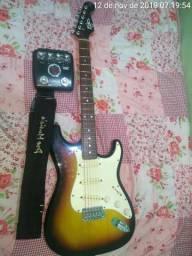 Guitarra + pedaleira troco em PS3