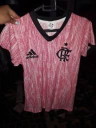 Camisas do Flamengo rosa