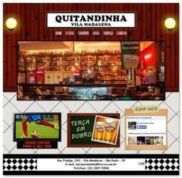Site Para Bar - Lanchonetes - Restaurante e Outros Comercio