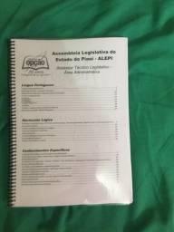 Apostilhas ALEPI com 80 questões de RLM