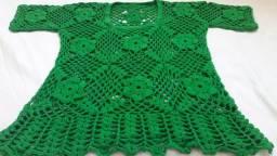 Blusa de crochê tamanho G