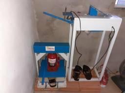 Vendo maquina fazer sandália havaianas