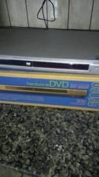 DVD funcionando só não tem controle remoto