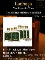 Cachaça Alambique direto de Minas gerais Pará o seu consumo