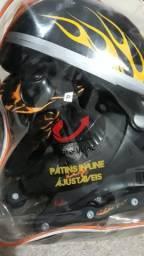 Kit de Patins in line ajustaveis TIGRE-VELOZ