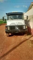 Caminhão caçamba MB alugo/vendo