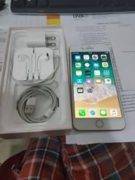 Iphone 8 Plus 64gb garantia até 19 fevereiro completo