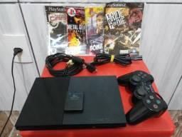 PlayStation 2 MUITO NOVO
