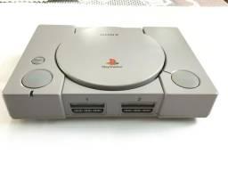 Playstation 1 (FAT) SCPH-9000 (ITEM RARO DE COLECIONADOR)