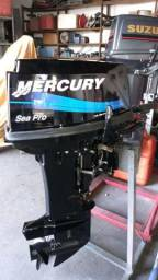 Motor de popa Mercury 25 HP ano 2012 só R$5.750,00 - 2012