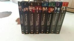 Colecão supernatural dvd's da 1° temporada à 8°