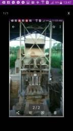 Maquina de fazer blocos e canaletas