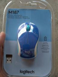 Mouse Logitech m187 azul