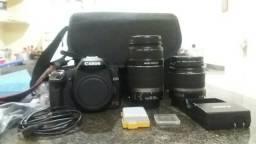 Camera canon profissional 2 lentes