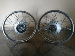 Rodas originais fan 125
