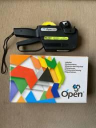 Etiquetadora Open C8 - Semi nova, sem detalhes, pouco uso