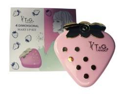 Estojo de Maquiagem Kit Maquiagem T&G Tango Morango