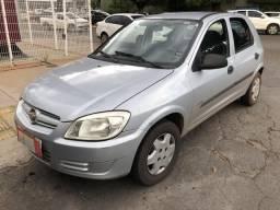 Gm Chevrolet Celta 1.0 Flex 4 Portas Prata 2008 - 2009