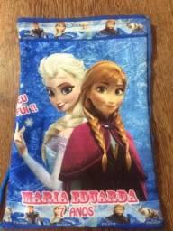 Sacolinhas supresa Frozen** nome Maria Eduarda 7 anos