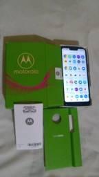 Moto G7play com pouco meses de uso e acessórios