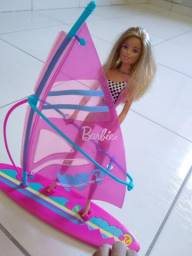 Barbie com prancha