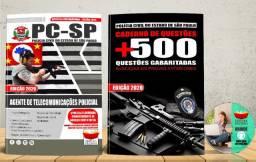 Apostila Polícia Civel Pc Sp Agente de Telecomunicações Concurso 2020 - Nova e Lacrada