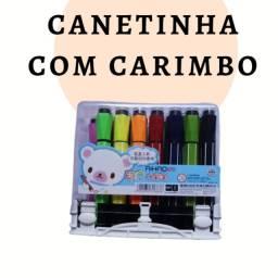 Canetinhas com carimbo