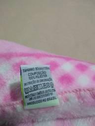 Cobertor antialérgico para bebê