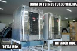 Linha Fornos Turbo Metvisa à Pronta Entrega - Sibéria Equipamentos
