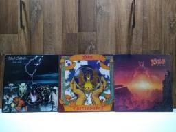 Disco Vinil LP Dio The Last Line e Sacred Heart comprar usado  Rio de Janeiro